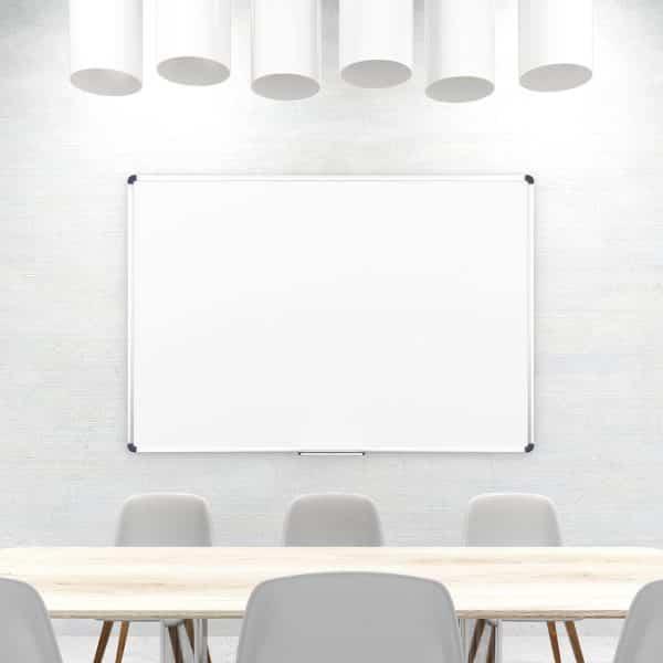 Magnetic Drywipe Whiteboard Aluminium Frame-153