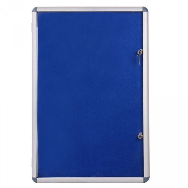 Internal Glazed Lockable Tamper Proof Display Case Indoor Poster Holder-0