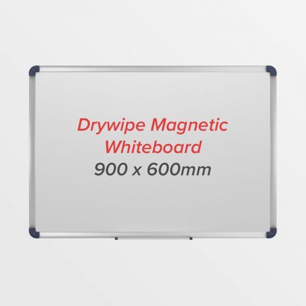 Magnetic Drywipe Whiteboard Aluminium Frame-154