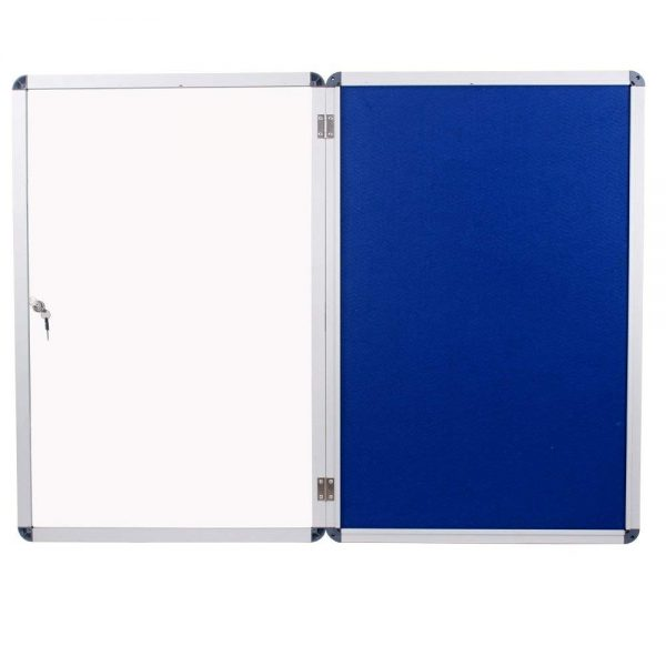Internal Glazed Lockable Tamper Proof Display Case Indoor Poster Holder-125