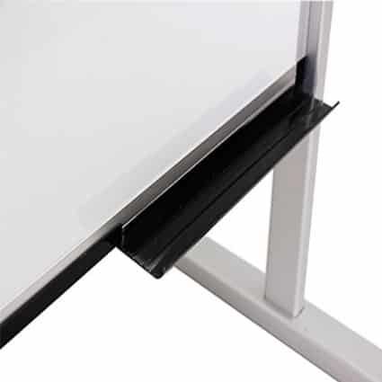 Double-Sided Magnetic Mobile Whiteboard 1200x600mm-18