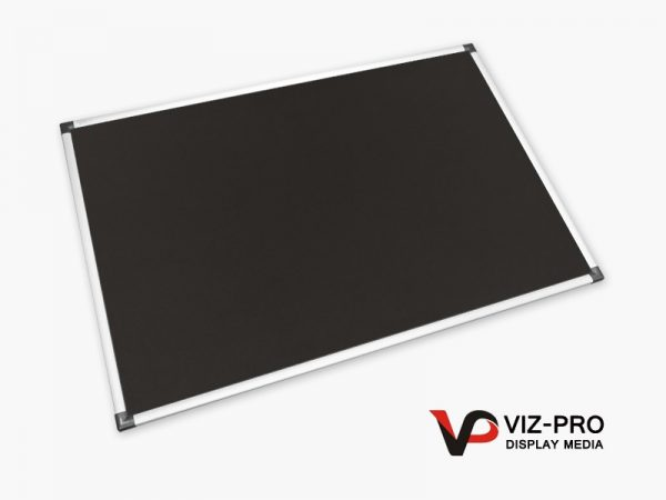 Variety Colours of Felt Noticeboard Aluminium Frame - Class 1 Fire Rated-84