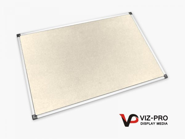 Variety Colours of Felt Noticeboard Aluminium Frame - Class 1 Fire Rated-87