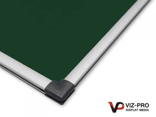 Variety Colours of Felt Noticeboard Aluminium Frame - Class 1 Fire Rated-132