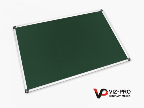 Variety Colours of Felt Noticeboard Aluminium Frame - Class 1 Fire Rated-90