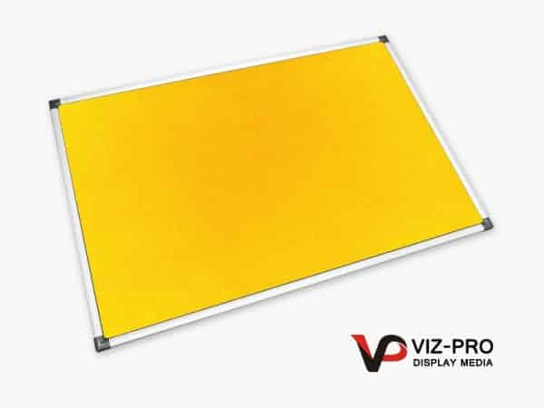 Variety Colours of Felt Noticeboard Aluminium Frame - Class 1 Fire Rated-91