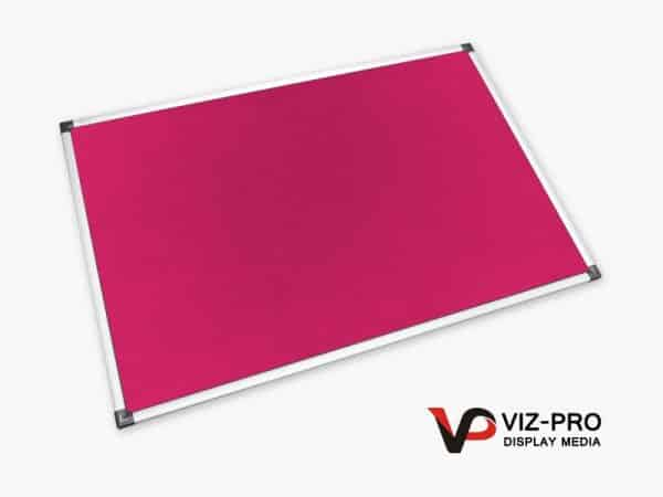 Variety Colours of Felt Noticeboard Aluminium Frame - Class 1 Fire Rated-93