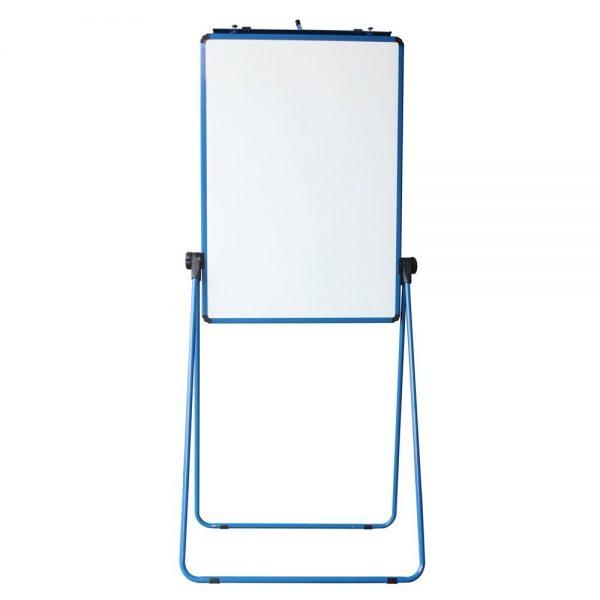 Blue U-Stand Whiteboard/Flipchart Easel, 70 X 90 cm-0