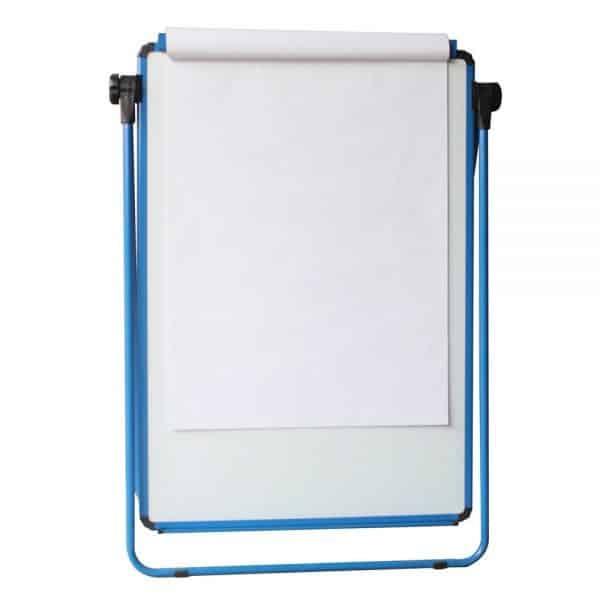 Blue U-Stand Whiteboard/Flipchart Easel, 70 X 90 cm-96