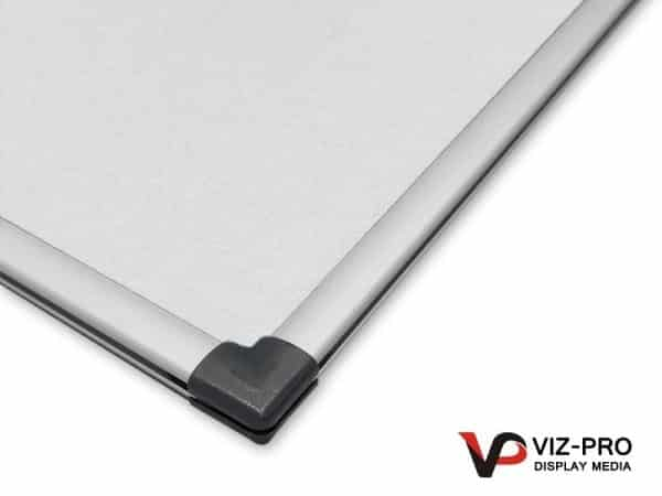 Variety Colours of Felt Noticeboard Aluminium Frame - Class 1 Fire Rated-138